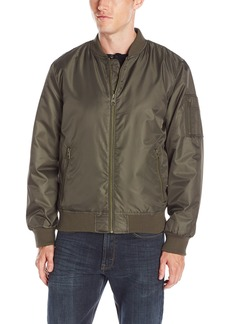 GUESS Men's Varsity Bomber Jacket