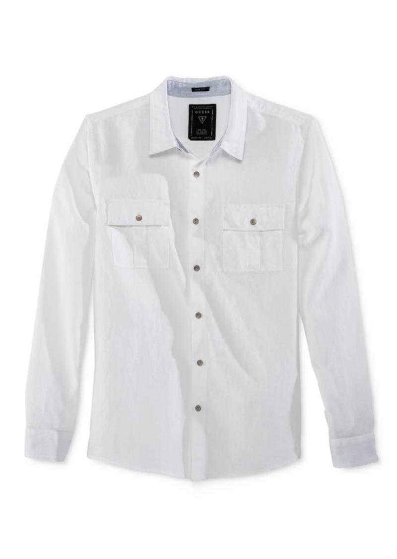 Guess Men's Walker Long-Sleeve Shirt