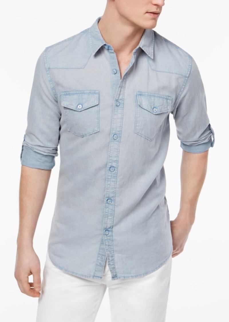 Guess Men's Walker Western Shirt