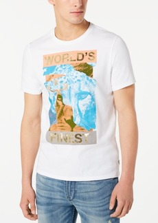Guess Men's World's Finest Graphic T-Shirt