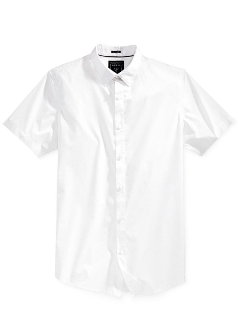 Guess Men's Wynn Stripe Short-Sleeve Shirt