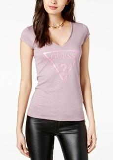 Guess Metallic Logo T-Shirt