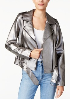 Guess Metallic Moto Jacket