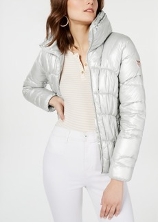 Guess Metallic Puffer Coat
