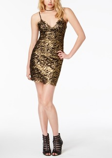 Guess Metallic Slip Dress
