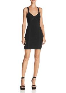 GUESS Mira Crisscross Body-Con Dress