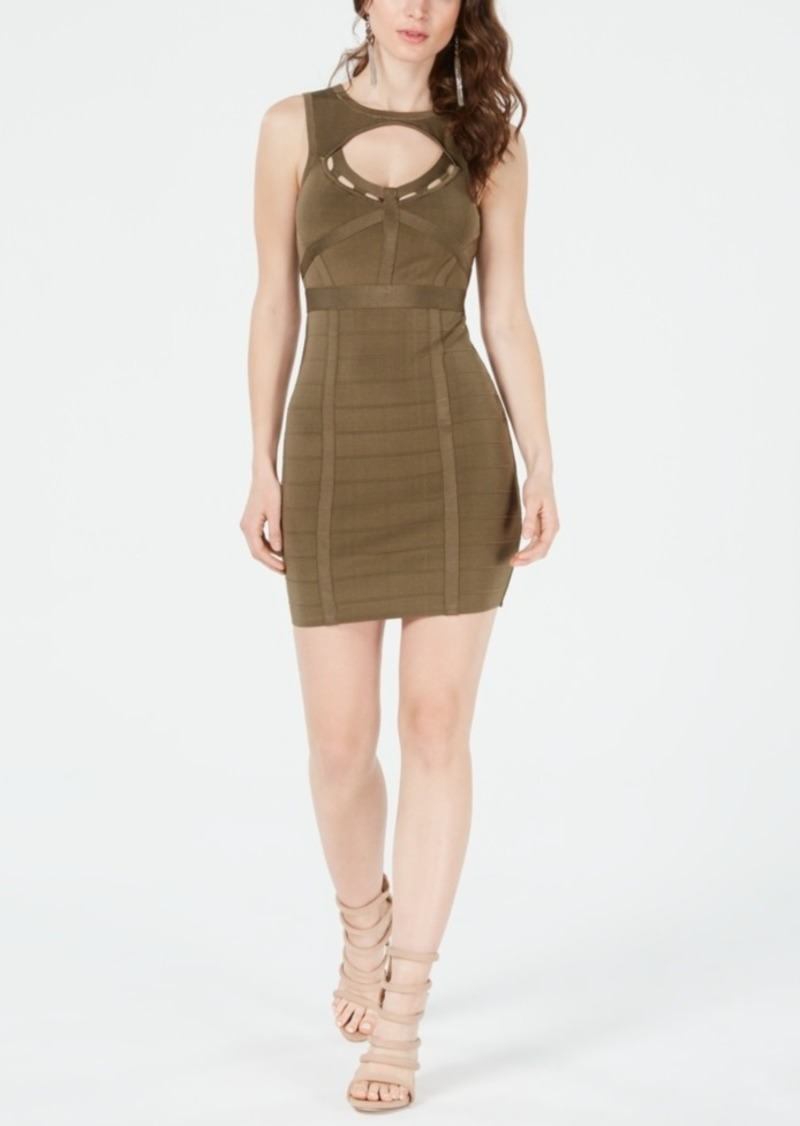 Guess Mirage Bandage Bodycon Dress