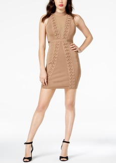 Guess Mirage Illusion Ring-Front Dress
