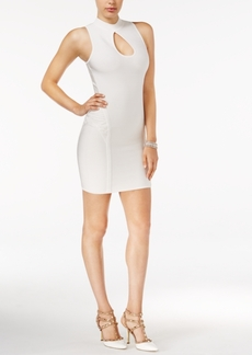 Guess Mirage Lattice-Detail Bandage Dress
