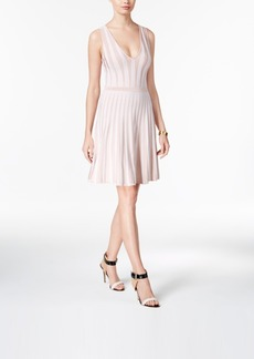 Guess Mirage Striped Fit & Flare Dress