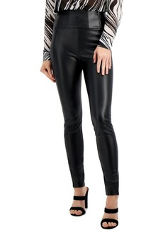 Guess Mirin Corset Faux-Leather Leggings