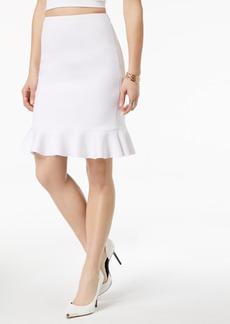 Guess Molly Peplum Pencil Skirt