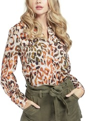 Guess Mona Button-Front Top