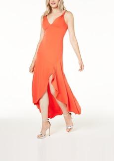 Guess Mylarose Asymmetrical Crisscross Dress