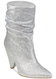 Guess Nakitta Slouchy Cone-Heel Booties Women's Shoes