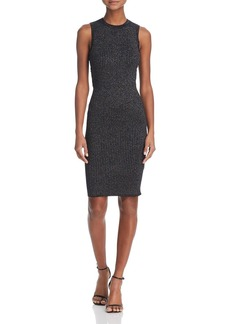 GUESS Nathalie Metallic Lace-Up Dress