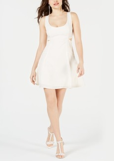 Guess Nathaly Cutout Fit & Flare Dress