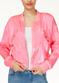 Guess Neil Cropped Bomber Jacket