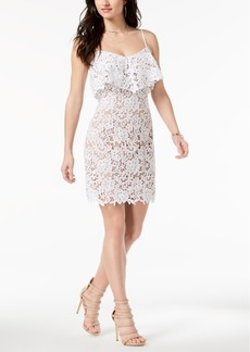 Guess Nevaeh Popover Lace Dress