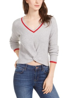 Guess Normandie Ribbed Twist-Front Sweater