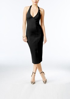 Guess Odiana Halter Midi Dress