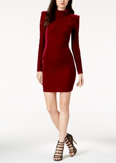 Guess Olga Velvet Turtleneck Dress