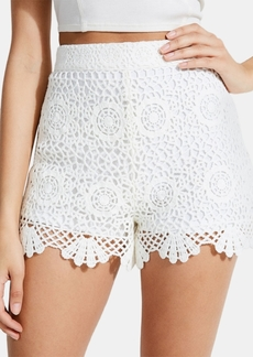 Guess Olisa Crochet Shorts