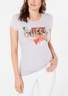 Guess Organic-Cotton Graphic T-Shirt