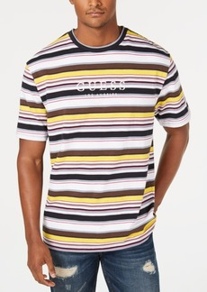 Guess Originals Men's Ashton Striped Logo T-Shirt