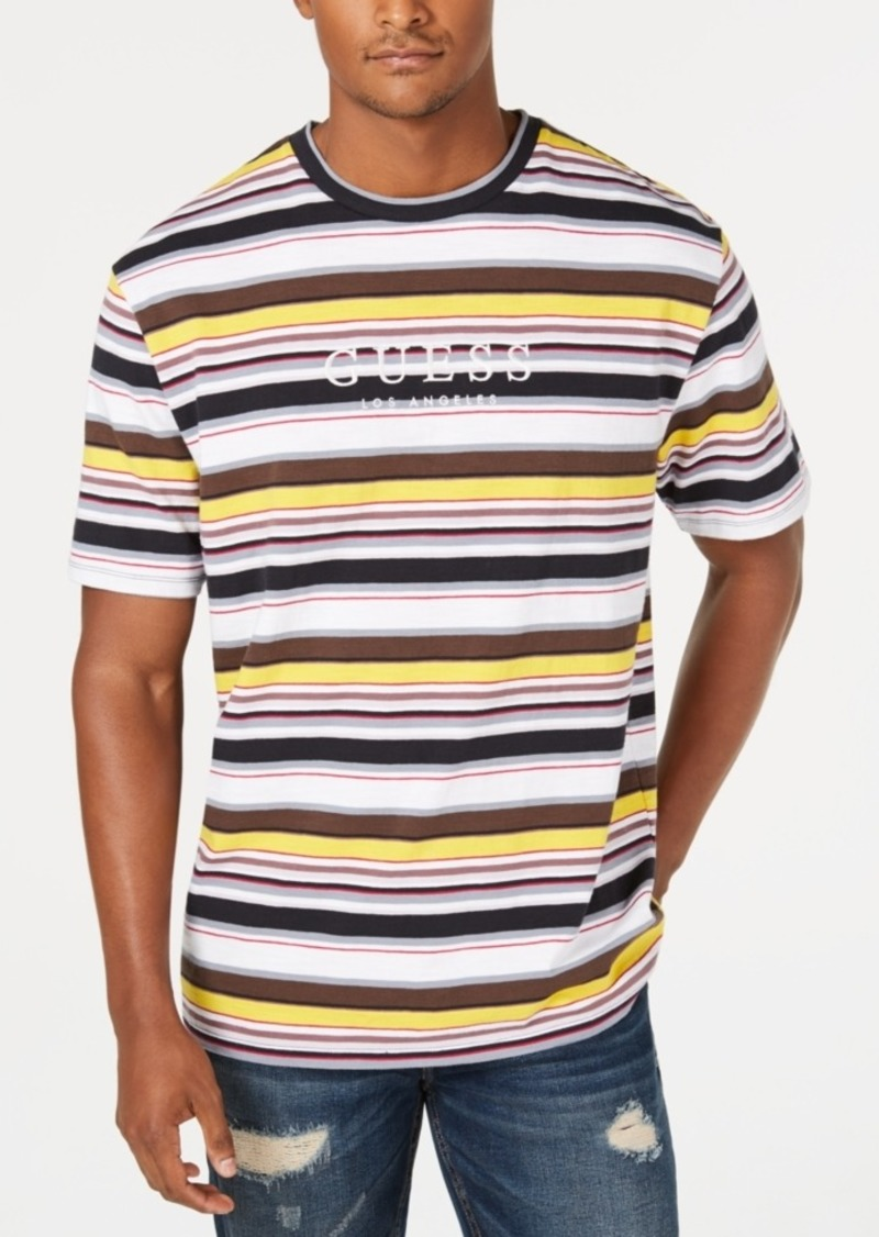 72080e13b8 Guess Jeans Mens Striped Shirt