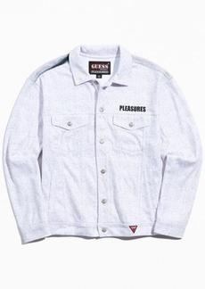 GUESS ORIGINALS X Pleasures Printed Denim Trucker Jacket