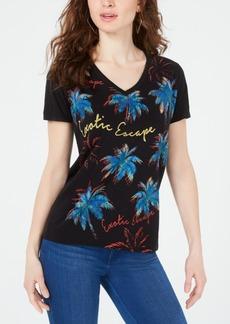 Guess Palm-Print T-Shirt