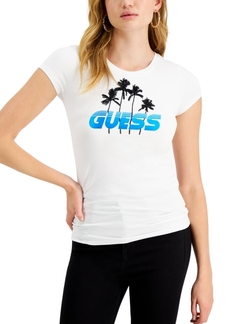 Guess Palm Tree Graphic T-Shirt