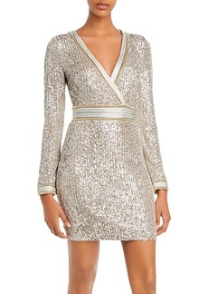 GUESS Patrice Sequined Sheath Dress