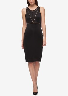 Guess Perforated Sheath Dress