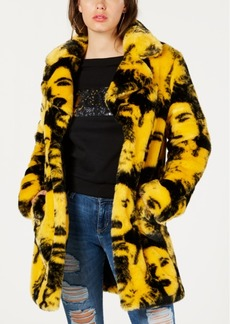 Guess Pia Faux-Fur Coat