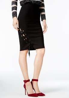 Guess Pia Lace-Up Skirt