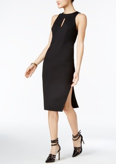 Guess Pia Strappy-Back Keyhole Sheath Dress