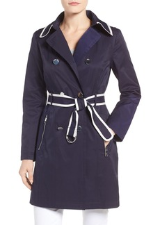 GUESS Piped Trench Coat