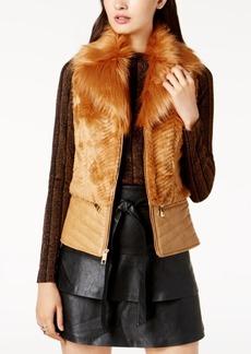 Guess Piper Faux-Fur Vest