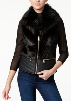 Guess Piper Faux-Fur Vest