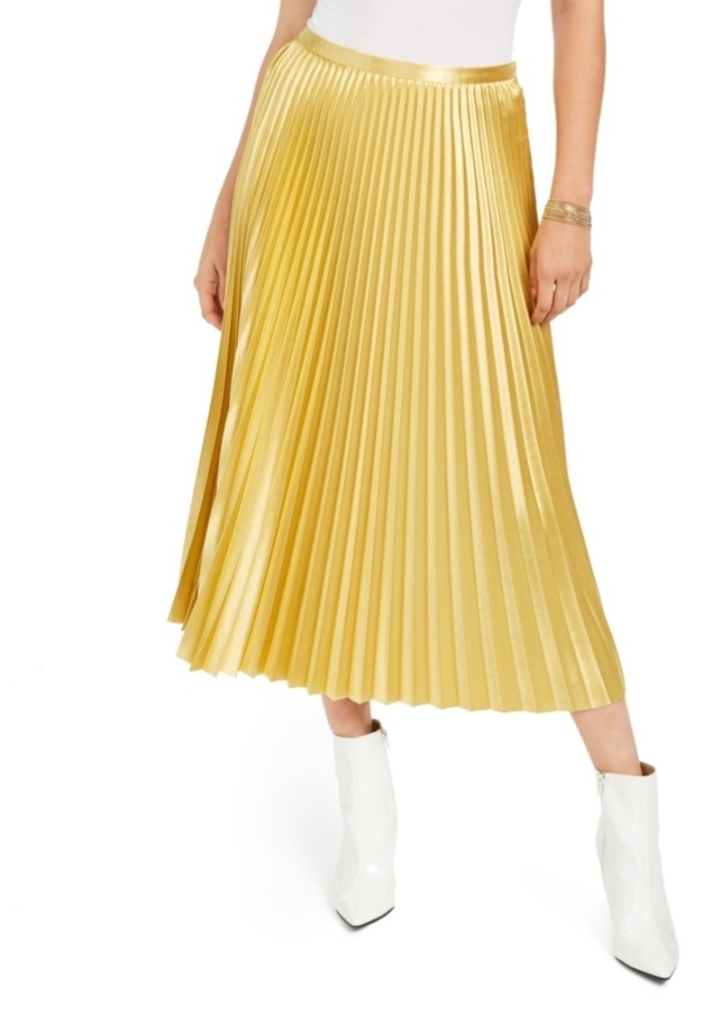 Guess Pleated Midi Skirt