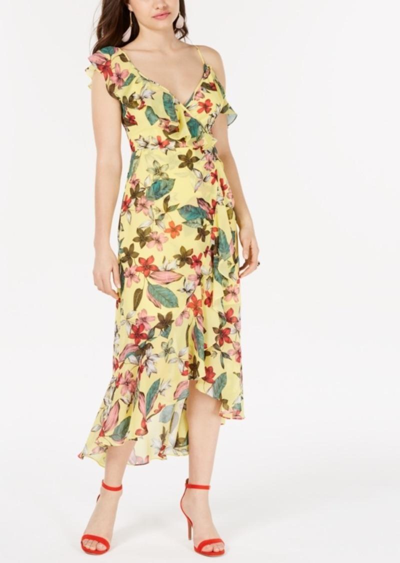 Guess Printed Asymmetrical Dress
