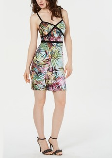 Guess Printed Bodycon Dress
