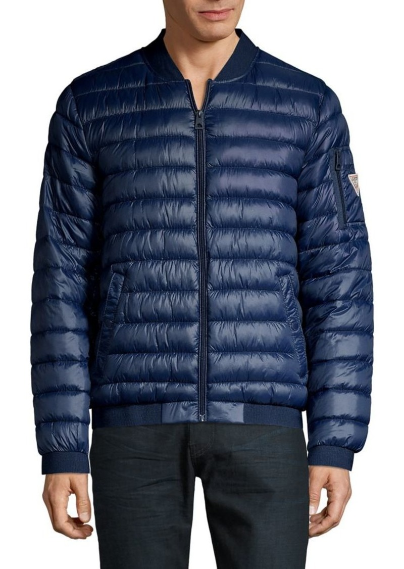 Guess Quilted Bomber Jacket
