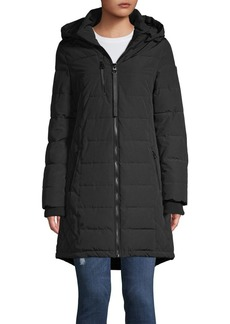 Guess Quilted Hooded Puffer Jacket