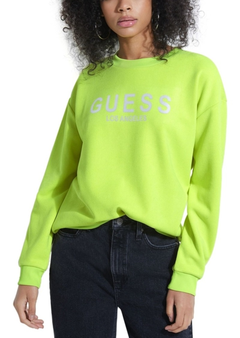 Guess Reflective Graphic Sweatshirt