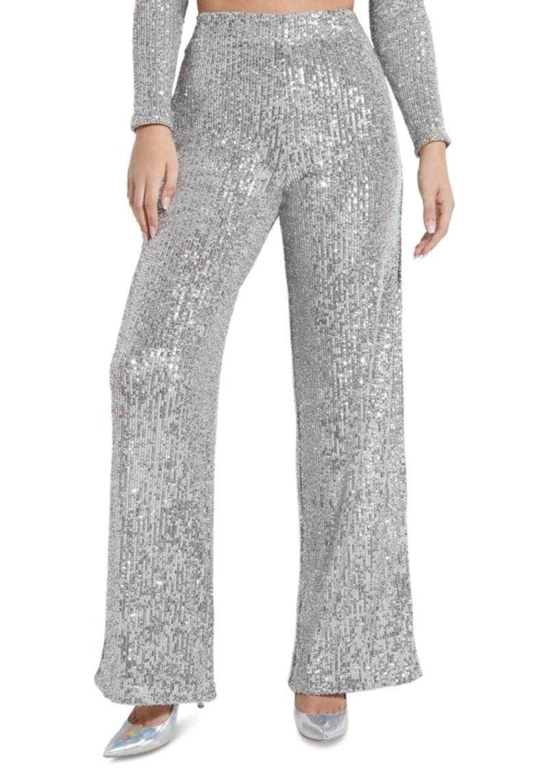 Guess Riza Sequin Wide Leg Pants
