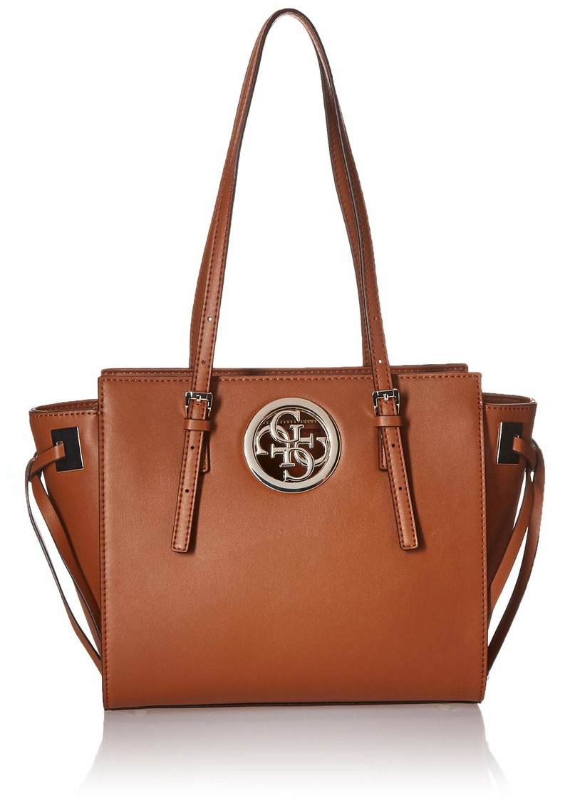 GUESS Rodeo Society Satchel cognac