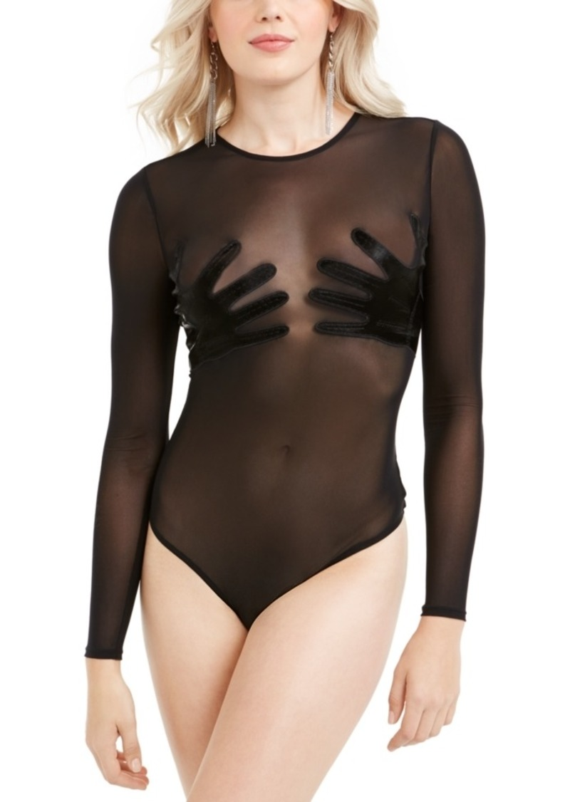 Guess Rory Applique Illusion Bodysuit